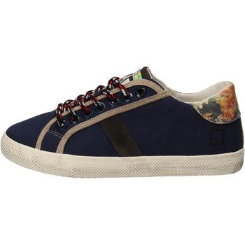 Sapatos Rapariga Sapatilhas Date AD862 Azul