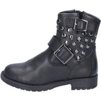 Sapatos Rapariga Botins Didiblu Botins AD981 Preto