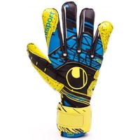 Acessórios Luvas Uhlsport Eliminator Speed Up Supergrip Lite fluor yellow-Black-Hydro blue