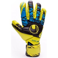 Acessórios Luvas Uhlsport Eliminator Speed Up Supergrip FingerSurround Lite fluor yellow-Black-Hydro blue