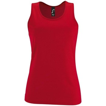 Textil Mulher Tops sem mangas Sols SPORT TT WOMEN Rojo