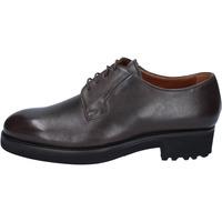 Sapatos Homem Sapatos Alexander classiche t. moro pelle BY450 Marrone