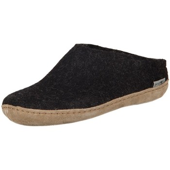 Sapatos Mulher Chinelos Glerups DK Charcoal Lammwollfilz Preto