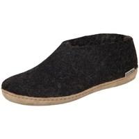 Sapatos Mulher Chinelos Glerups DK Shoe Charcoal Lammwollfilz Preto