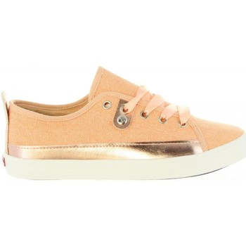 Sapatos Mulher Sapatilhas Lois Jeans 61134 R1 Beige