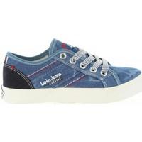 Sapatos Criança Sapatilhas Lois 60050 252 JEANS Azul