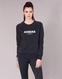 Textil Mulher Sweats adidas Originals ESS ALLCAP SWT Preto