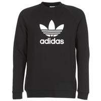 Textil Homem Sweats adidas Originals TREFOIL CREW Preto