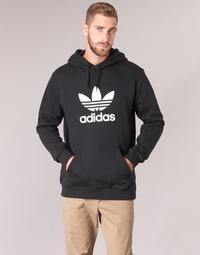 Textil Homem Sweats adidas Originals TREFOIL HOODIE Preto