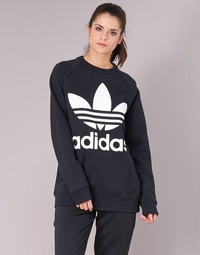 Textil Mulher Sweats adidas Originals OVERSIZED SWEAT Preto