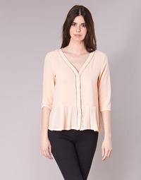 Textil Mulher Tops / Blusas Betty London IAKIROU Cru