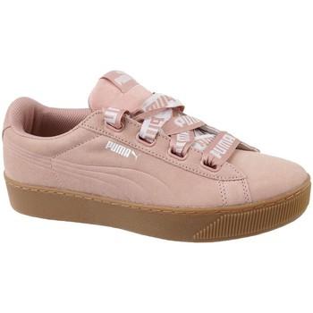Sapatos Mulher Sapatilhas Puma Vikky Platform Ribbon Bold Cor-de-rosa