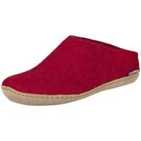 Sapatos Mulher Chinelos Glerups B0800 Vermelho