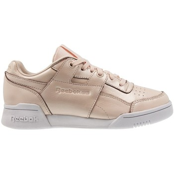 Sapatos Mulher Sapatilhas Reebok Sport W LO Plus Iridescent Branco, Cor bege, Creme