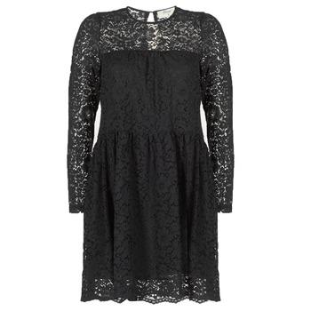 Textil Mulher Vestidos curtos Betty London IAOUDA Preto