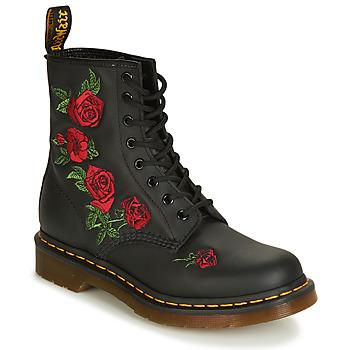 Sapatos Mulher Botas baixas Dr Martens 1460 VONDA Preto