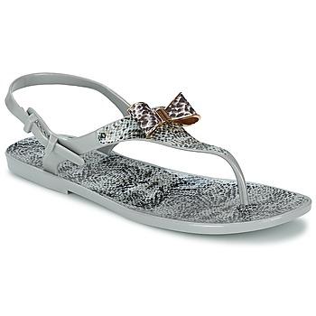 Sapatos Mulher Sandálias Colors of California SNAKE SANDAL Cinzento