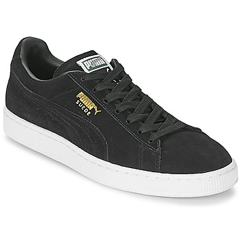 Sapatos Sapatilhas Puma SUEDE CLASSIC Preto