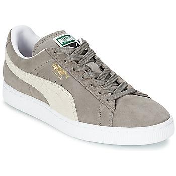 Sapatos Sapatilhas Puma SUEDE CLASSIC Cinza