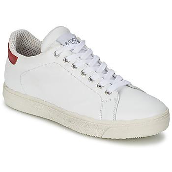 Sapatos Mulher Sapatilhas Meline AIMEE Branco / Vermelho