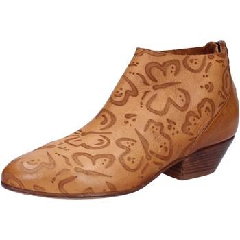 Sapatos Mulher Botins Moma AB350 Castanho