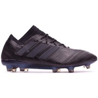 Sapatos Chuteiras adidas Performance Nemeziz 17.1 FG Core black-Hi-res green