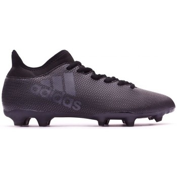 Sapatos Chuteiras adidas Performance X 17.3 FG Core black-Super cyan