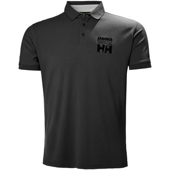 Textil Polos mangas curta Helly Hansen HP RACING POLO EBONY Preto