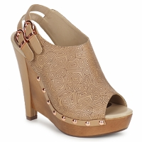 Sapatos Mulher Escarpim Zandra Rhodes BROWNWYN Areia