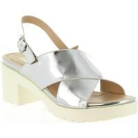 Sapatos Mulher Sandálias MTNG 55413 DELIA Plateado