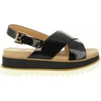 Sapatos Mulher Sandálias MTNG 50915 LISETTE Negro