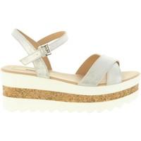Sapatos Mulher Sandálias MTNG 50779 SHELLEY Plateado