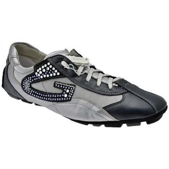 Sapatos Homem Sapatilhas Alberto Guardiani  Azul
