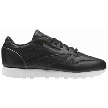 Sapatos Mulher Sapatilhas Reebok Sport CL Lthr Branco,Preto
