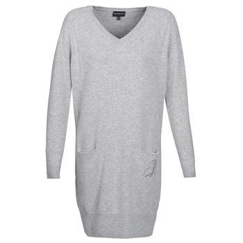 Textil Mulher Vestidos curtos Emporio Armani CROWA Cinza