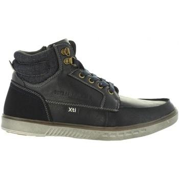 Sapatos Homem Sapatilhas de cano-alto Xti 47064 Azul