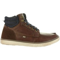 Sapatos Homem Sapatilhas de cano-alto Xti 47064 Marrón