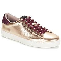 Sapatos Mulher Sapatilhas Victoria DEPORTIVO METALIZADO Ouro