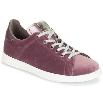 Sapatos Mulher Sapatilhas Victoria DEPORTIVO TERCIOPELO Violeta