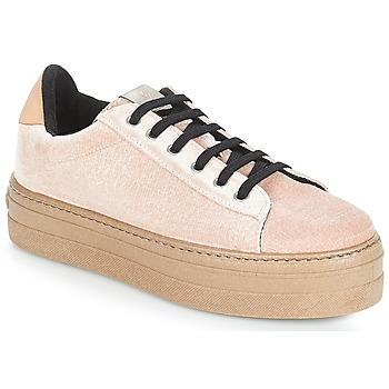 Sapatos Mulher Sapatilhas Victoria DEPORTIVO TERCIOPELO/CARAM Bege