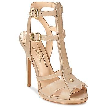 Sapatos Mulher Sandálias Vivienne Westwood CAVIL Bege