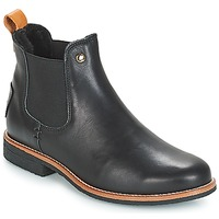 Sapatos Mulher Botas baixas Panama Jack GIORDANA Preto