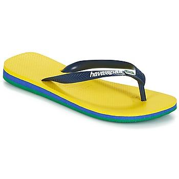 Sapatos Chinelos Havaianas BRASIL LAYERS Amarelo