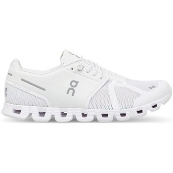 Sapatos Sapatilhas On Running ONCLOUD WOMAN ALL WHITE branco
