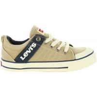 Sapatos Rapaz Sapatilhas Levi's VALB0002T ALABAMA Beige