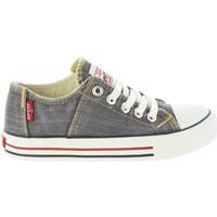 Sapatos Rapaz Sapatilhas Levi's VTRU0085T ORIG Gris