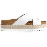 Sapatos Mulher Chinelos Colour Feet MACARELLA Branco