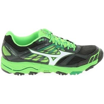 Sapatos Homem Sapatilhas de corrida Mizuno Wave Mujin 4 Noir Vert Preto