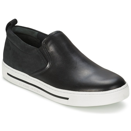 Sapatos Mulher Slip on Marc by Marc Jacobs CUTE KIDS Preto