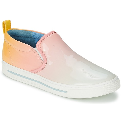 Sapatos Mulher Slip on Marc by Marc Jacobs CUTE KICKS Multicolor
